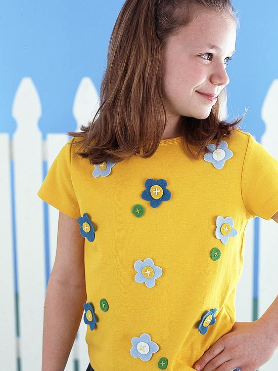Everyday Embellishments for Girls' Clothes