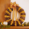 Pinecone-and-Kumquat Wreath