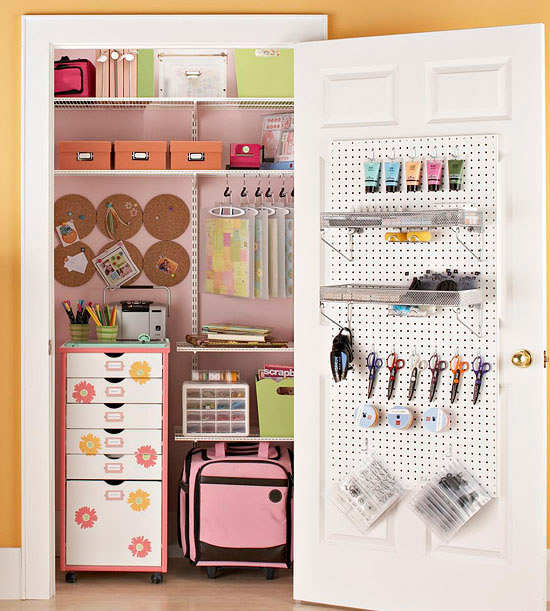 6 Tips for a Tidy Scrapbook Closet