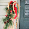 Adorn Seasonal Items for Christmas Door Decorations