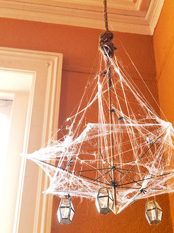 Webbed Chandelier