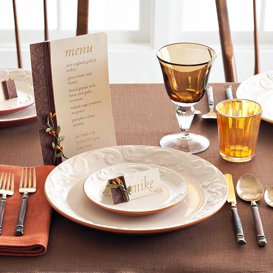 Make an Earthy Thanksgiving Invitation