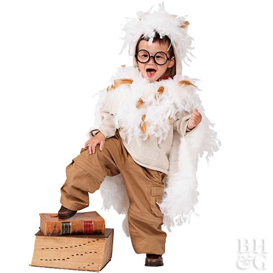 Make a Kid's Owl Halloween Costume