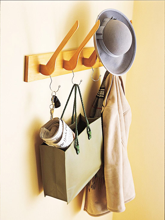 How to Make a Hanger Coat Rack