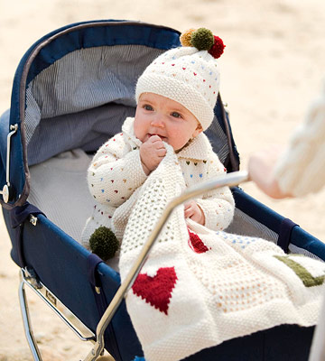 Knitted Baby Set