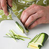 Step 2: Slicing Zucchini