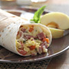 Salami and Provolone Burrito Wraps