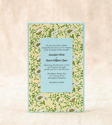 Pretty DIY Wedding Invitations