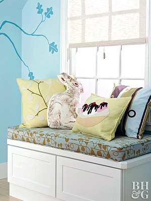 Quick and Easy Kids' Room Storage