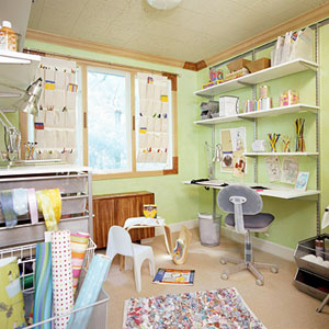 The Ultimate Family-Friendly Art Room