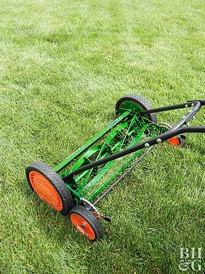 Why Reel Mowers Make Sense