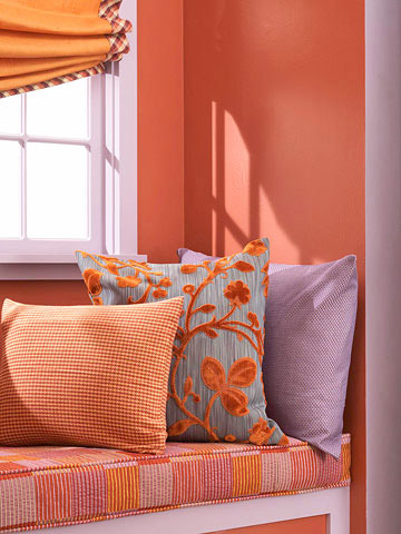 Decorating with Warm Colors