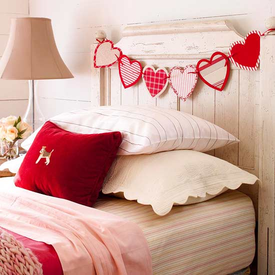 Patterned Hearts Garland