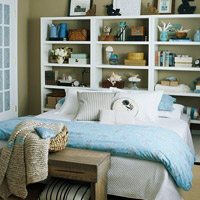Storage-Packed Headboards
