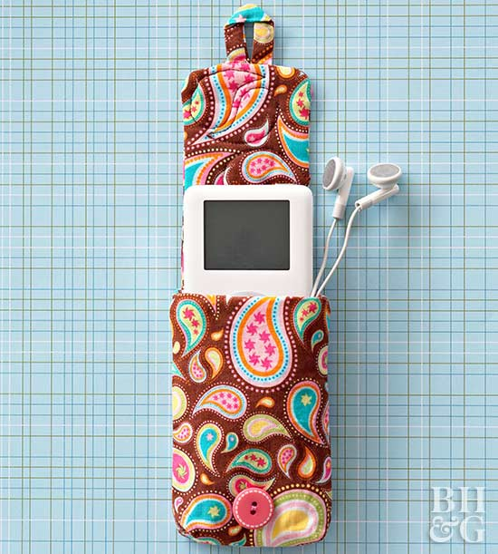 Sew a Playful iPod Holder