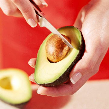 Pitting and Slicing Avocados