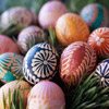 Pysanky Egg Dyeing