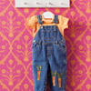 Embellished Kid's Overalls