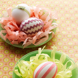 Pretty Ways to Decorate with Easter Eggs for Easter from Better Homes and Gardens