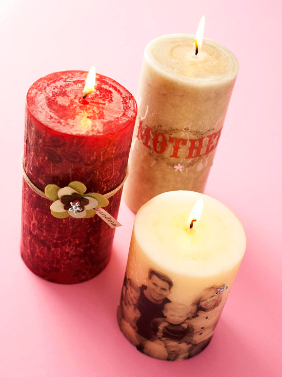 Pretty Candles for Mom