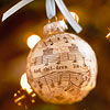 Sheet Music Ornament Ball
