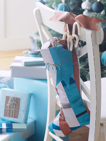Holiday Trend Decorate In Blue And Brown