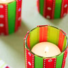Sparkling Ribbon Votives