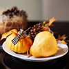 Small Pumpkin Plate Centerpiece