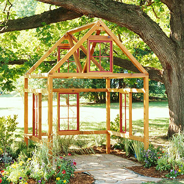 Build an Outdoor Room This Weekend