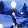 Winter Lantern Post