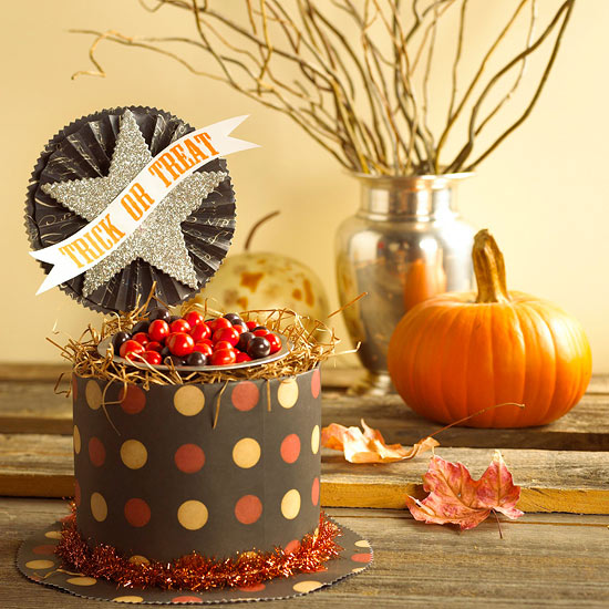 Make a Sweet Treat Box for Halloween