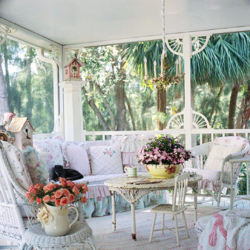 A Salvage Chic Outdoor Room
