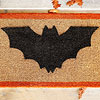 Black Bat Doormat