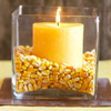 Corn and Candles Centerpiece
