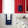 Red, White & Blue Bath