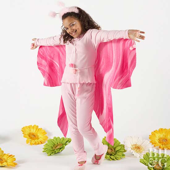 Pretty Butterfly Kid's Costume for Halloween