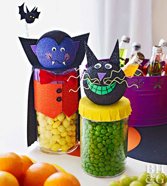 Make Creepy Candy Jars for Halloween