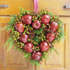 Craft a Heart Wreath out of Apples