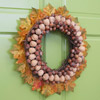 Nuts-and-Leaves Wreath
