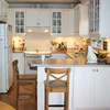 Bright White Kitchen