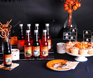 Modern Halloween Table Decorations