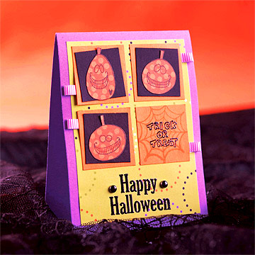 Easy-to-Make Halloween Cards and Invitations