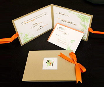 Invitations Perfect for Fall Weddings