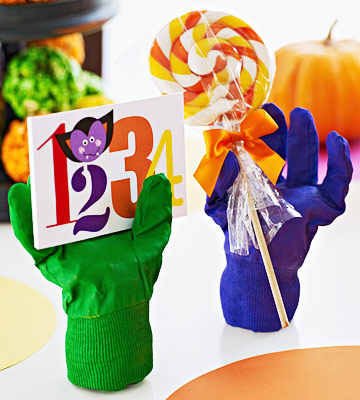 Make Colorful Severed Hands for Halloween