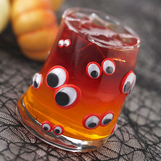 Make a Night Eyes Halloween Glass
