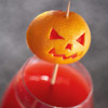 Skewered Jack-o'-Lantern