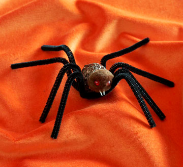 Make a Spider Candy Cover-Up for Halloween