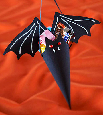 A Vampire Bat Party Favor