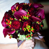 An Artistic Fall Wedding