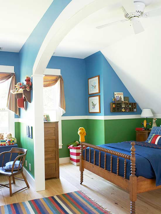 Toddler Boy Room Design: Boy's Bedrooms Ideas -- Better Homes And Gardens -BHG.com